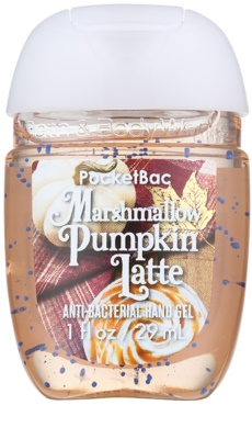 Bath & Body Works PocketBac Marshmallow Pumpkin Latte Gel antibacterial pentru maini.