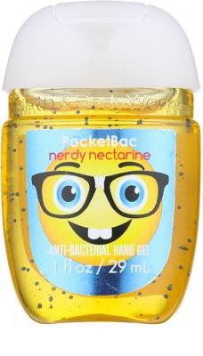 Bath & Body Works PocketBac Nerdy Nectarine antibakterielles Gel für die Hände
