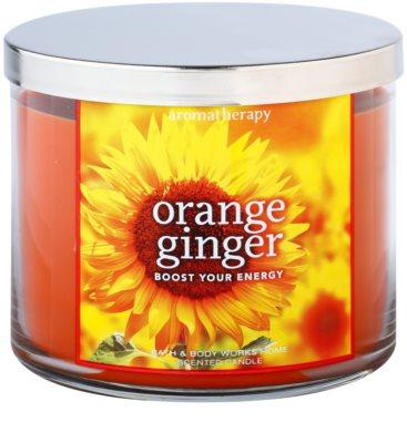 Bath & Body Works Orange Ginger vela perfumado