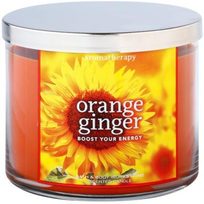 Bath & Body Works Orange Ginger vonná svíčka