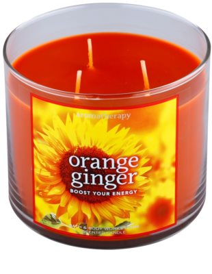 Bath & Body Works Orange Ginger lumanari parfumate 1