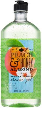 Bath & Body Works Peach & Honey Almond гель для душу для жінок