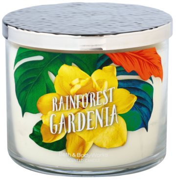 Bath & Body Works Rainforest Gardenia illatos gyertya