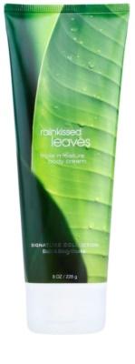 Bath & Body Works Rainkissed Leaves tělový krém pro ženy