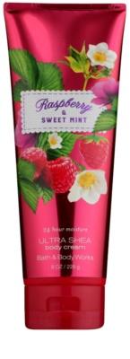 Bath & Body Works Raspberry & Sweet Mint Körpercreme für Damen