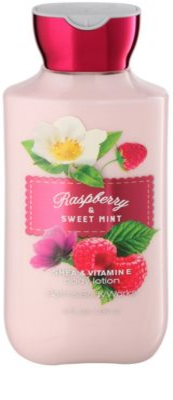 Bath & Body Works Raspberry & Sweet Mint Körperlotion für Damen