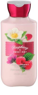 Bath & Body Works Raspberry & Sweet Mint Lapte de corp pentru femei