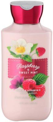 Bath & Body Works Raspberry & Sweet Mint leche corporal para mujer