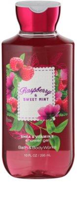 Bath & Body Works Raspberry & Sweet Mint sprchový gel pro ženy