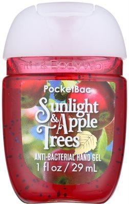 Bath & Body Works PocketBac Sunlight & Apple Trees antibakterielles Gel für die Hände