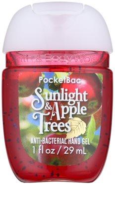 Bath & Body Works PocketBac Sunlight & Apple Trees Gel antibacterial pentru maini.