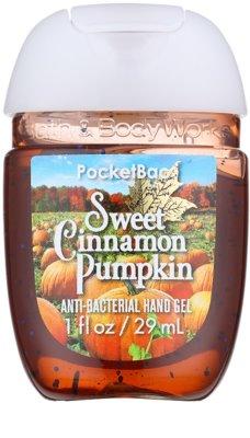 Bath & Body Works PocketBac Sweet Cinnamon Pumpkin antibakteriálny gél na ruky