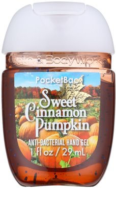 Bath & Body Works PocketBac Sweet Cinnamon Pumpkin Gel antibacterial pentru maini.