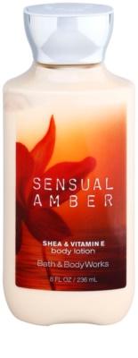 Bath & Body Works Sensual Amber тоалетно мляко за тяло за жени