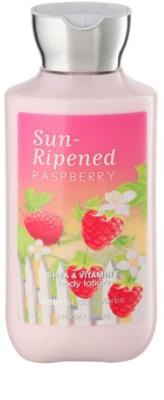Bath & Body Works Sun Ripened Raspberry Lapte de corp pentru femei