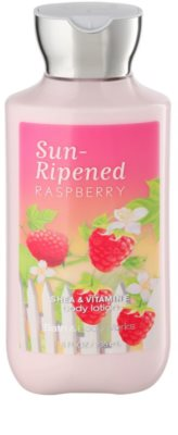 Bath & Body Works Sun Ripened Raspberry mleczko do ciała dla kobiet