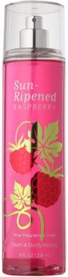 Bath & Body Works Sun Ripened Raspberry spray do ciała dla kobiet