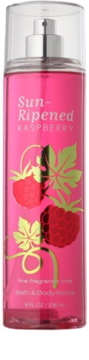 Bath & Body Works Sun Ripened Raspberry testápoló spray nőknek