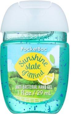 Bath & Body Works PocketBac Sunshine State of Mind antibakterielles Gel für die Hände