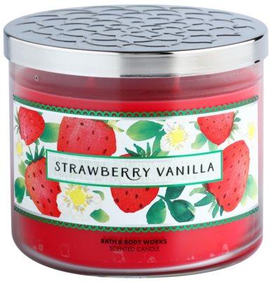 Bath & Body Works Strawberry Vanilla vela perfumado