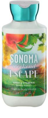 Bath & Body Works Sonama Weekend Escape mleczko do ciała dla kobiet