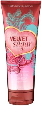 Bath & Body Works Velvet Sugar tělový krém pro ženy