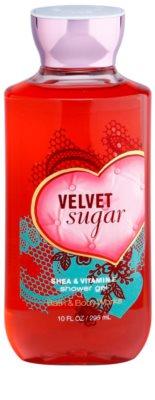 Bath & Body Works Velvet Sugar sprchový gel pro ženy