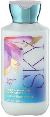 Bath & Body Works Violet Lily Sky tělové mléko pro ženy