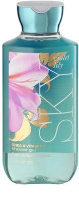 Bath & Body Works Violet Lily Sky żel pod prysznic dla kobiet