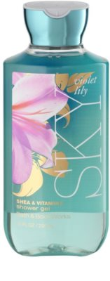 Bath & Body Works Violet Lily Sky гель для душу для жінок