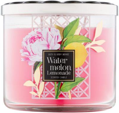 Bath & Body Works Watermelon Lemonade vonná svíčka