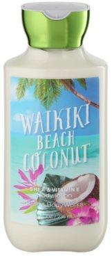 Bath & Body Works Waikiki Beach Coconut mleczko do ciała dla kobiet
