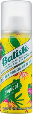 Batiste Fragrance Tropical champô seco para volume e brilho