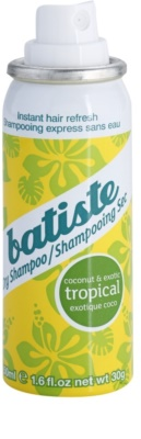 Batiste Fragrance Tropical champô seco para volume e brilho 1