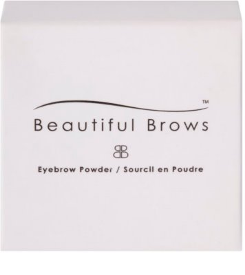 Beautiful Brows Accessories Cor para sobrancelhas com pigmentos minerais recarga 2