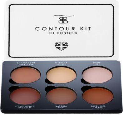 Beautiful Brows Contour Kit palete de cores para contorno de rosto