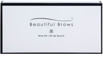 Beautiful Brows Kit Aranjare perfecta a sprancenelor in doar cate secunde 4