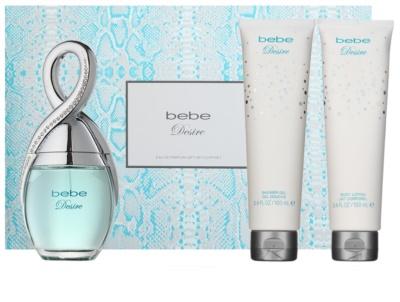 Bebe Perfumes Desire set cadou