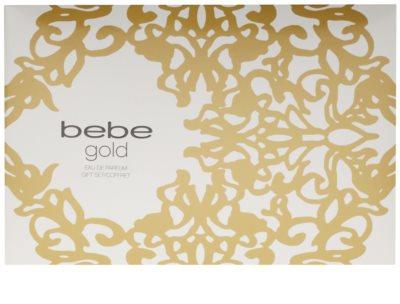Bebe Perfumes Gold darilni set 5