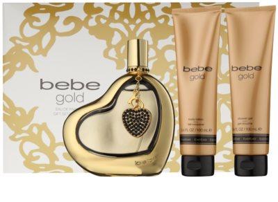 Bebe Perfumes Gold lote de regalo