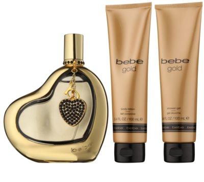Bebe Perfumes Gold darilni set 1