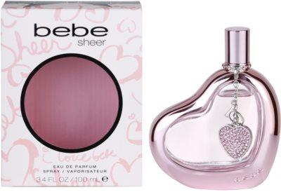 Bebe Perfumes Sheer parfémovaná voda pro ženy