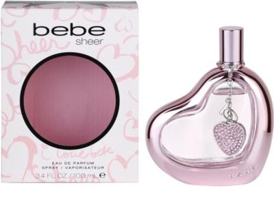 Bebe Perfumes Sheer парфумована вода для жінок