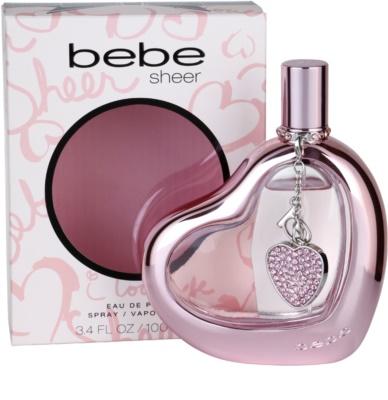 Bebe Perfumes Sheer parfémovaná voda pre ženy 1