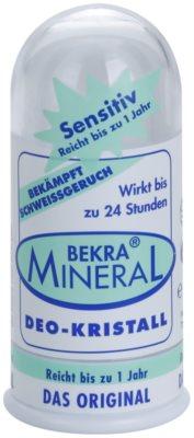 Bekra Mineral Deodorant Stick Crystal deodorant cu particule de cristale cu aloe vera