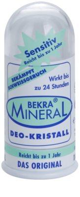 Bekra Mineral Deodorant Stick Crystal desodorizante em cristal mineral com aloe vera