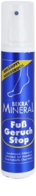 Bekra Mineral Foot-Odour-Stop spray mineral para pernas