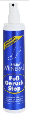 Bekra Mineral Foot-Odour-Stop минерален спрей за крака 1