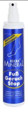 Bekra Mineral Foot-Odour-Stop minerálny sprej na nohy 1