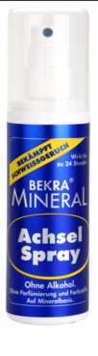 Bekra Mineral Underarm Spray deodorant mineral Spray